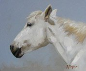 Portrait of a horse by John Payne